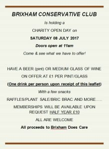 charity open day